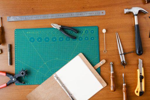 herramientas cuero, utensilios cuero, trabajar cuero