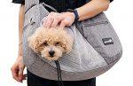 bolso transportín para perros, transportín para perros, bolso bandolera portaperros, bolso bandolera, bolsa para perro, bolso acolchado, bandolera acolchada